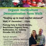 Teagasc Organic Demonstration Farm Walk – Beechlawn December 4th @12 noon