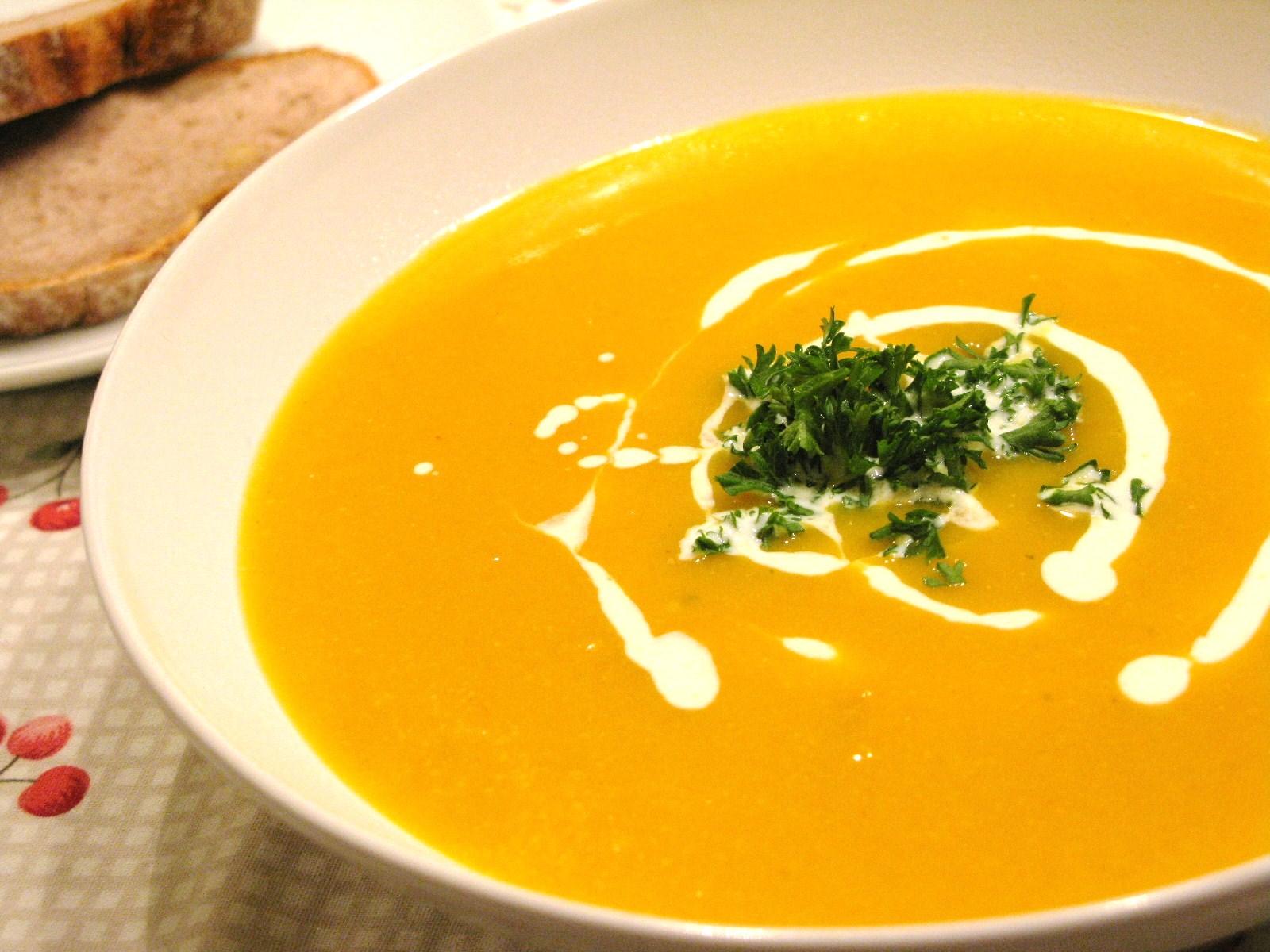 Organic recipe of the week – seasonal pumpkin soup