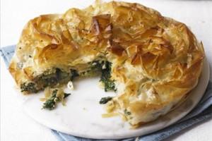Lamb filo pastry